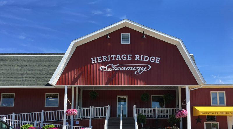 Contact the Heritage Ridge Creamery